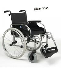 Silla de ruedas modelo D200 con asiento reclinable