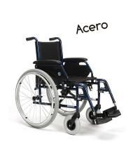 Silla de ruedas acero modelo Jazz S50